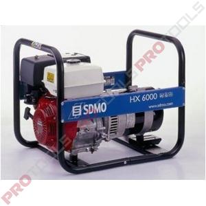 SDMO HX 6000 1-vaihe bensiini