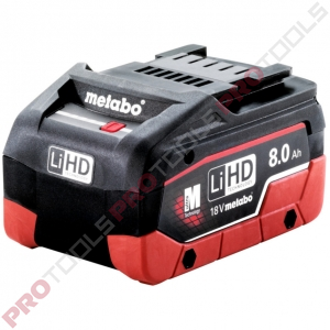 Metabo LiHD 18V/8.0 Ah