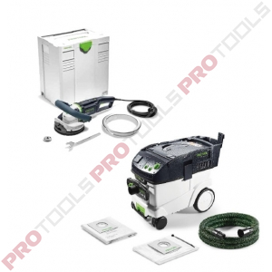 Festool RG 130 E-Plus + CTL 36